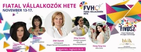 Fiatal Vállalkozók Hete 2017 - Biztosítsd be a helyed most!