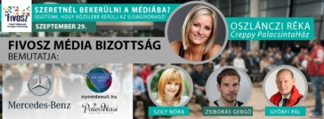 Hogyan kerülj be cégeddel a MÉDIÁBA? - FIVOSZ Média Konferencia